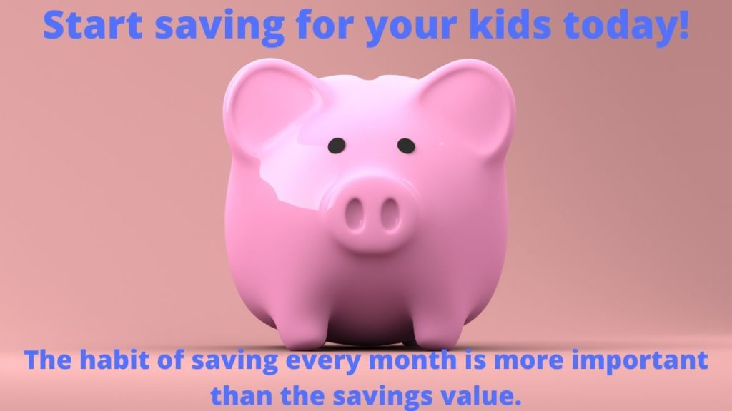Start saving for your kids today